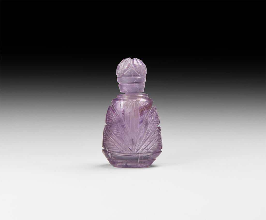 Indian Amethyst Perfume Bottle