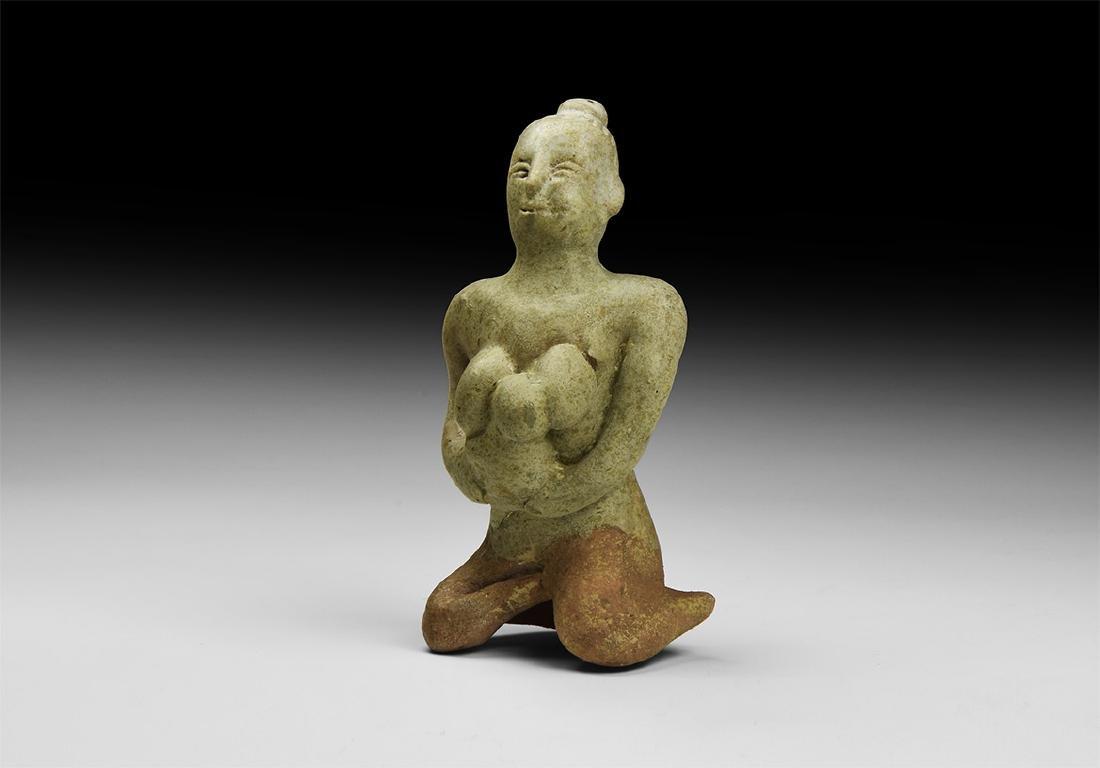 Vietnamese Mother and Child Tukatha Figurine