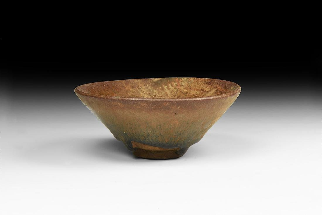Chinese Song Jianyao 'Hare's Fur' Tea Bowl