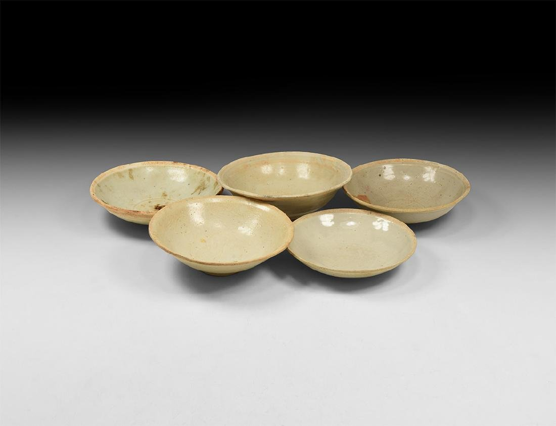 Chinese Song Glazed Bowl Group
