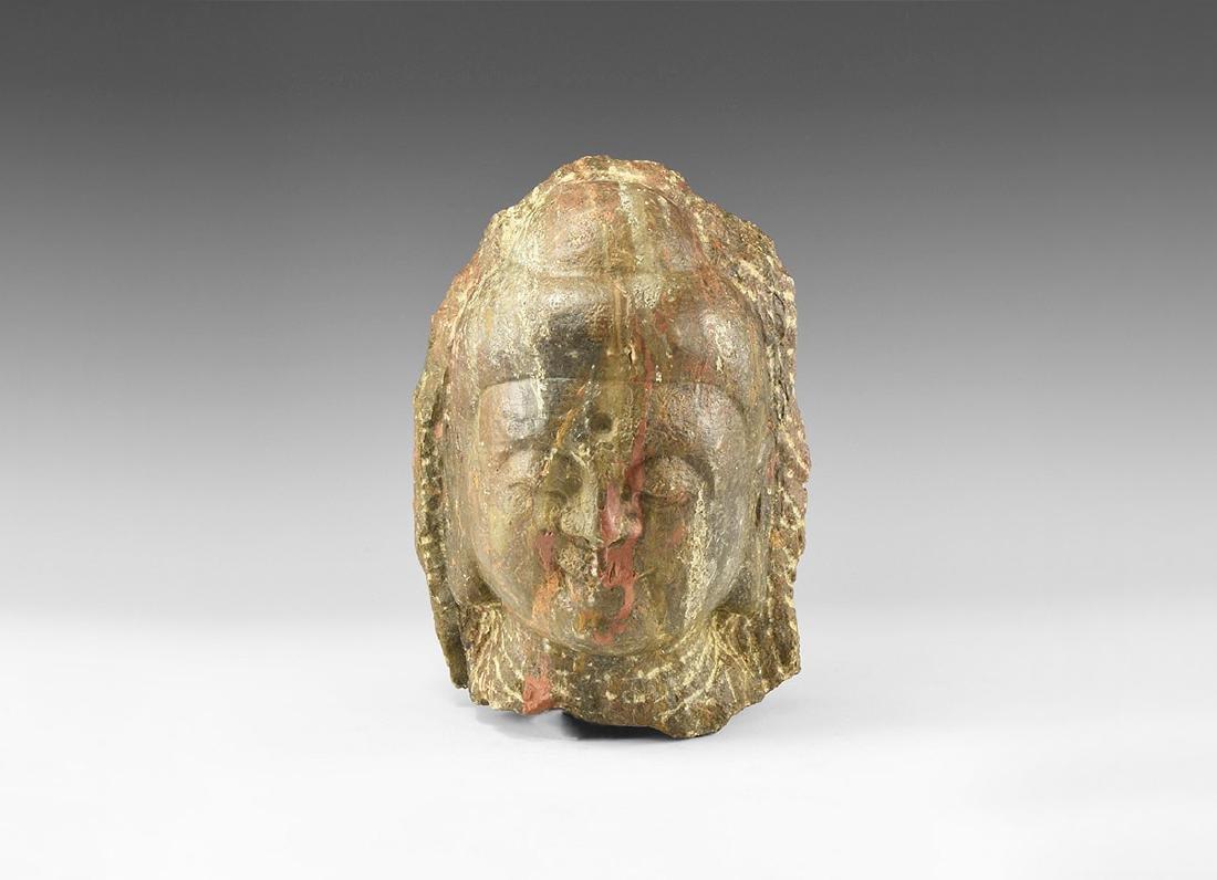Tibetan Buddha Head