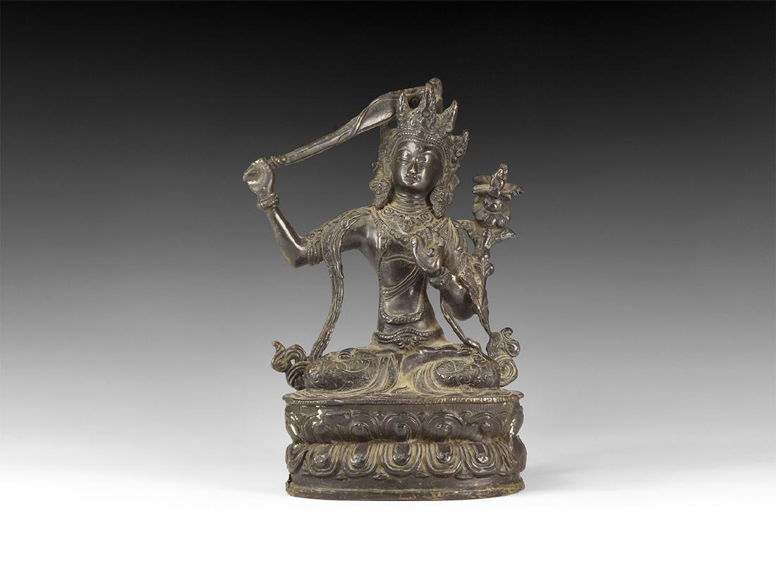 Tibetan Manjushri Statue