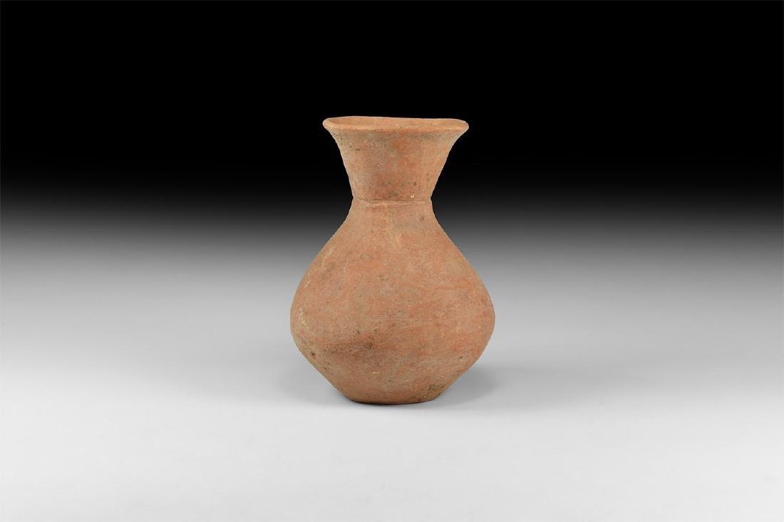Chinese Machang Period Piriform Vase