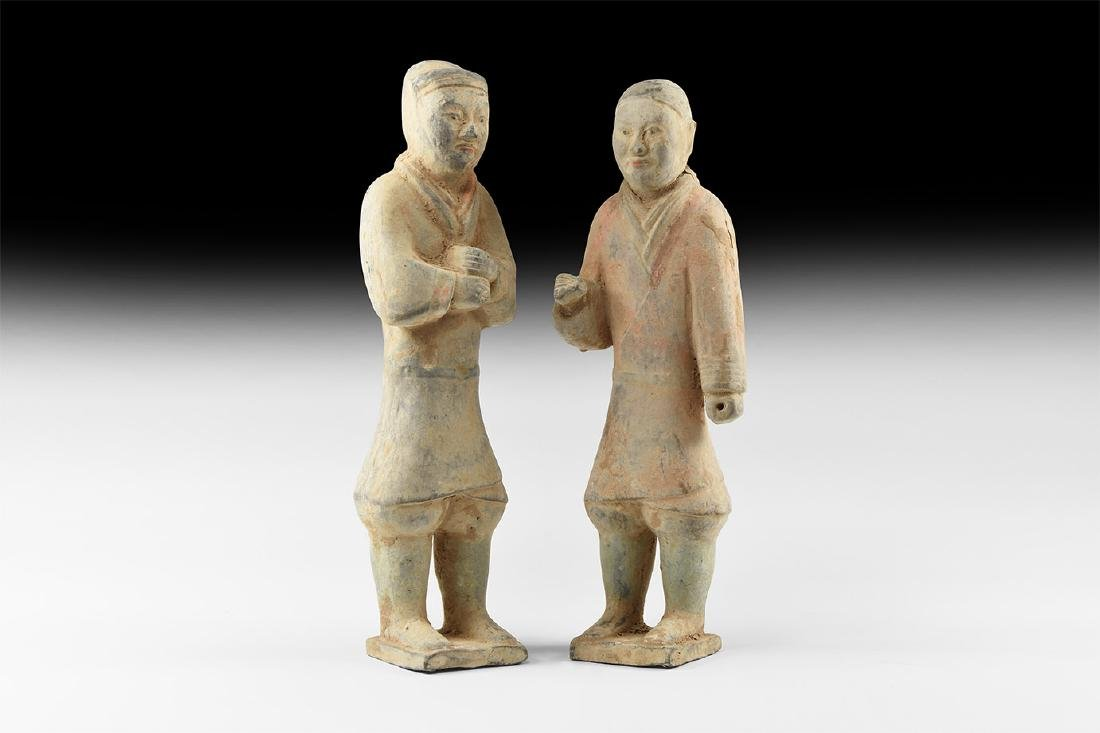 Chinese Han Figure Pair