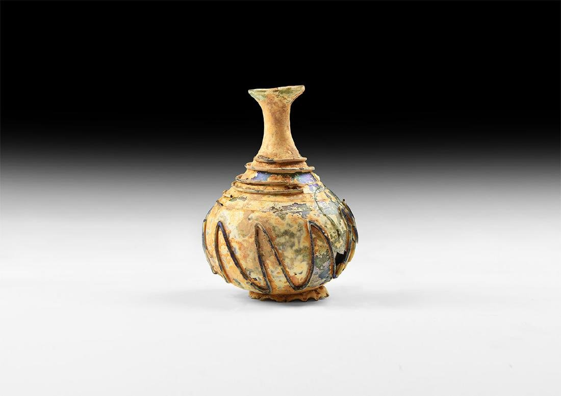 Islamic Glass Vessel with Trail