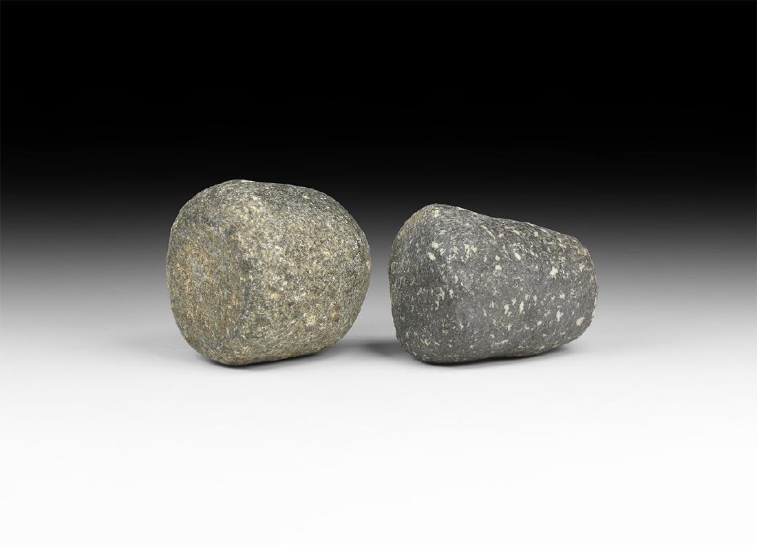 Stone Age Hammer Stone Pair