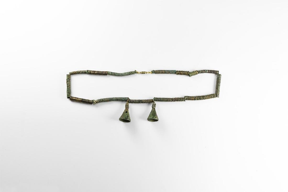 Bronze Age Necklace with Pendants