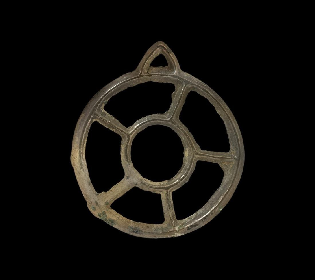 Bronze Age Wheel-Type Pendant