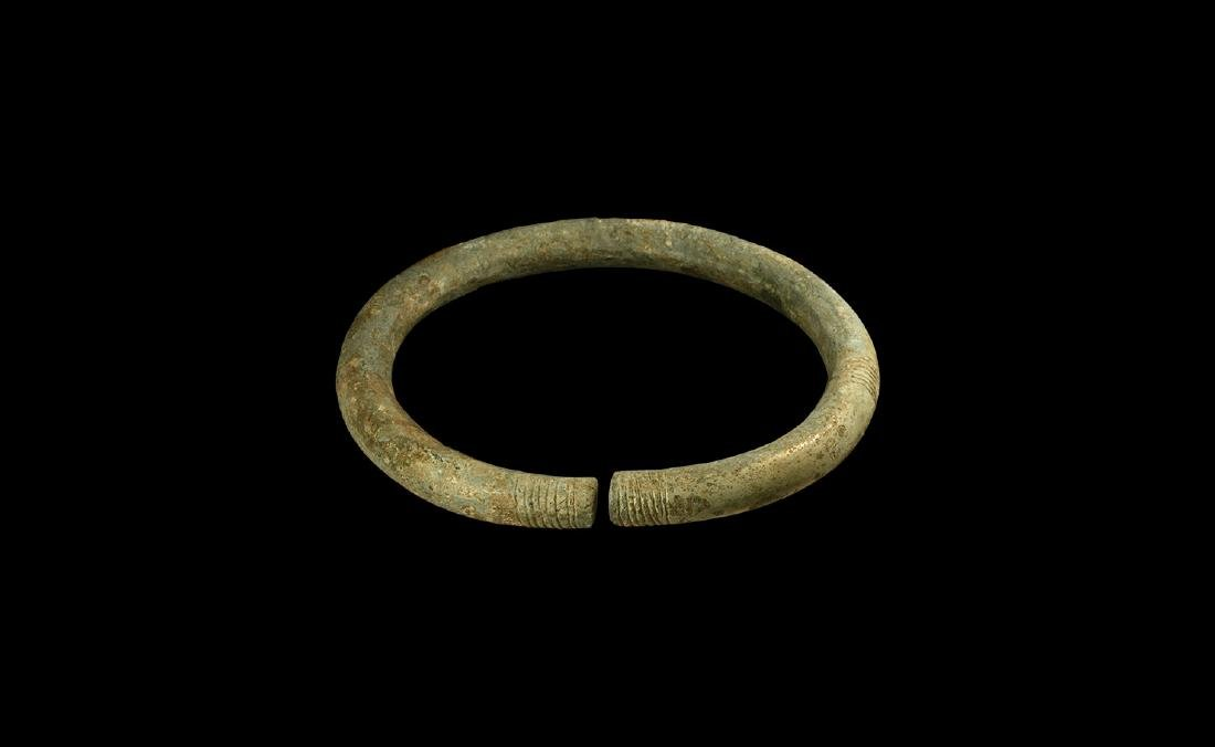 Bronze Age Decorated Arm Ring
