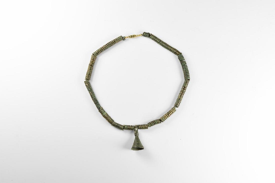 Bronze Age Necklace with Pendant