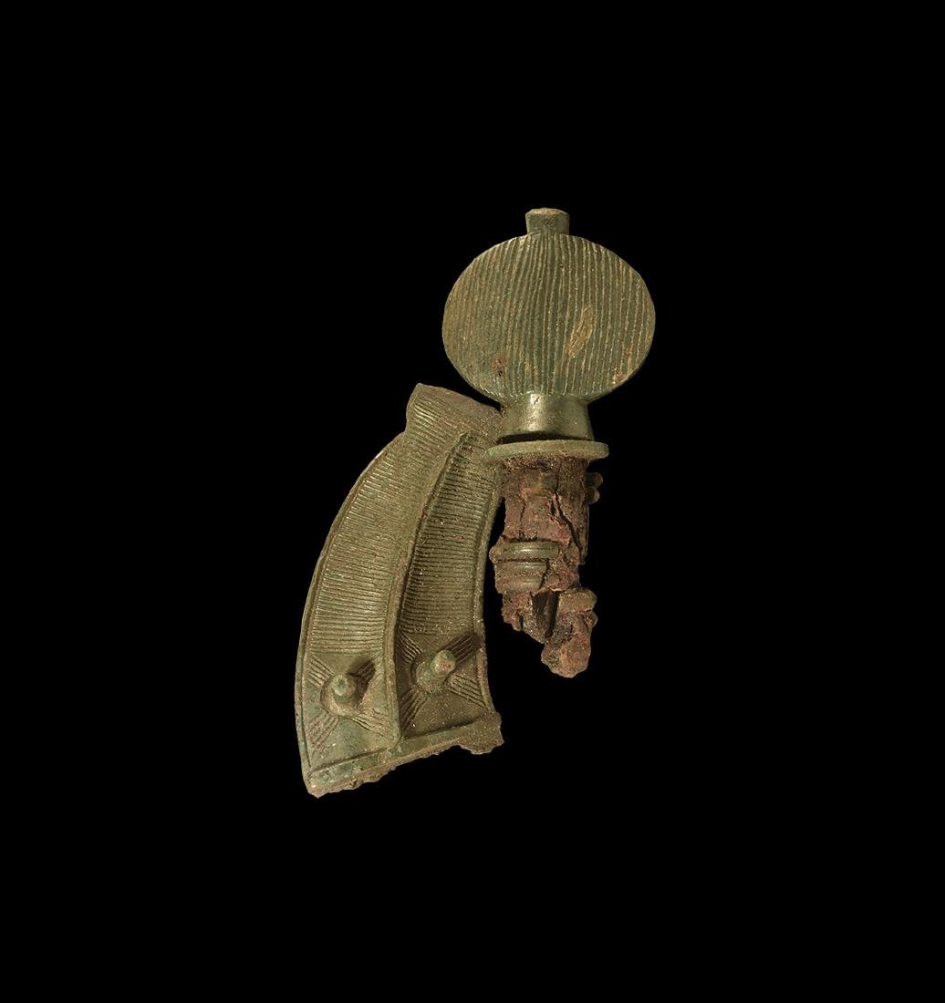 Iron Age Celtic Decorated Mount