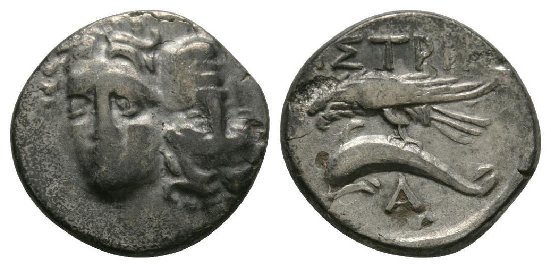 Istros - Eagle and Dolphin Drachm