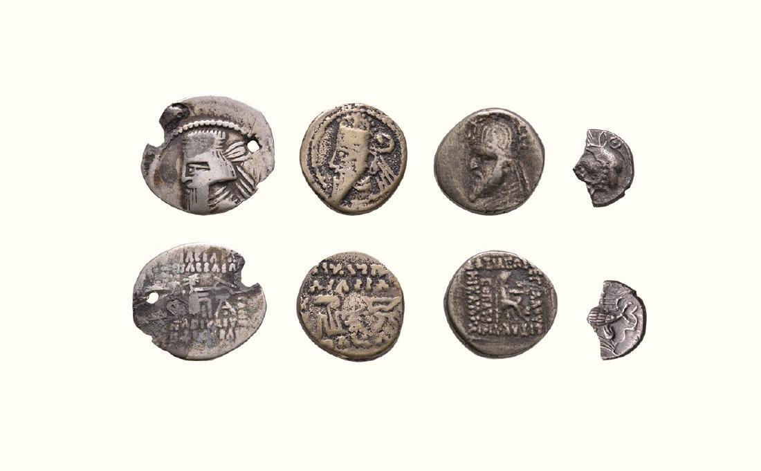 Ancient Greek Coins Parthia - Drachms [4]
