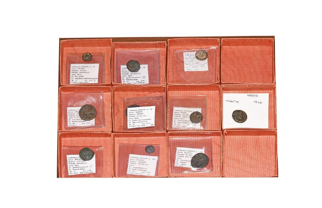 Ancient Greek Coins - Mixed Bronzes [10]