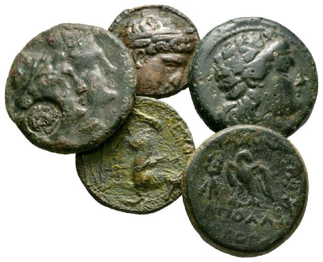 Ancient Greek Coins - Bronzes Group [5]