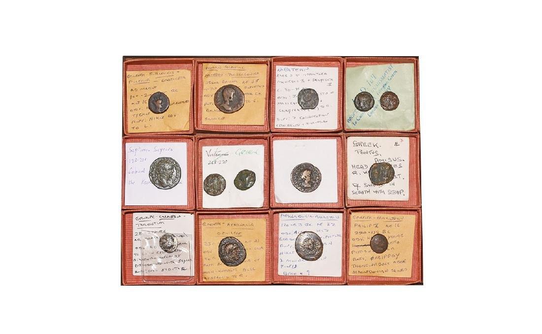 Ancient Greek Coins - Mixed Bronzes [14]