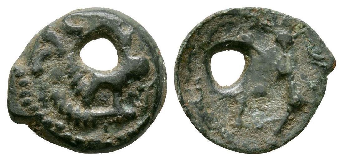 Celtic Iron Age Coins - Gaul - Boar Potin