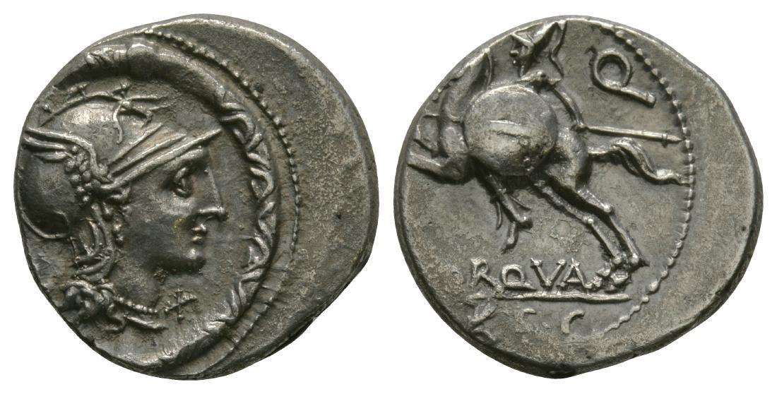 L. Torquatus - Warrior Denarius