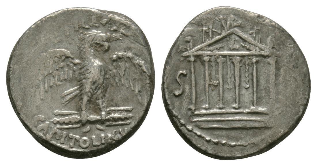 Petillius Capitolinus - Jupiter Temple Denarius