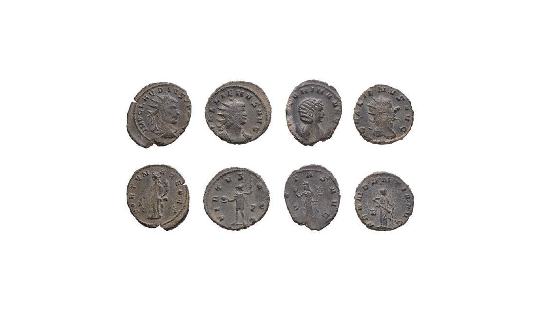 Gallienus, Salonina & Claudius II - Antoninianii
