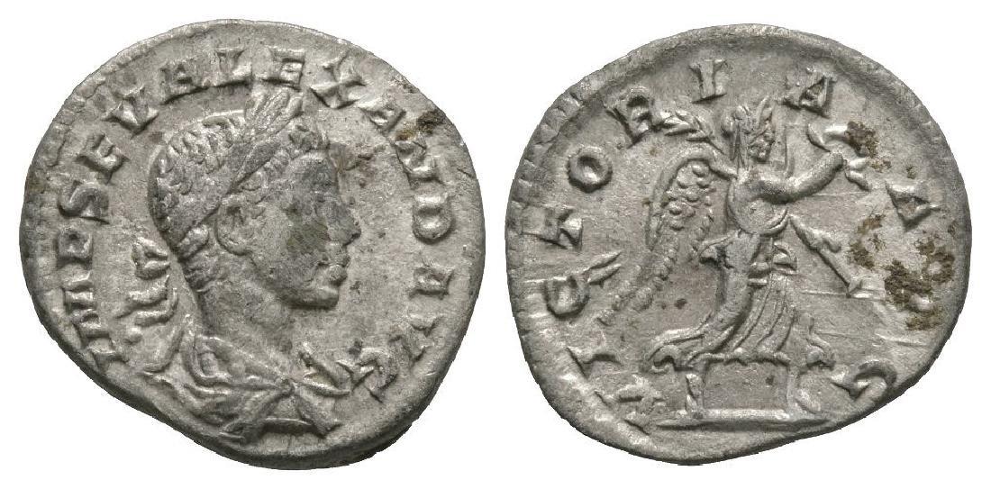 Severus Alexander - Victory Denarius