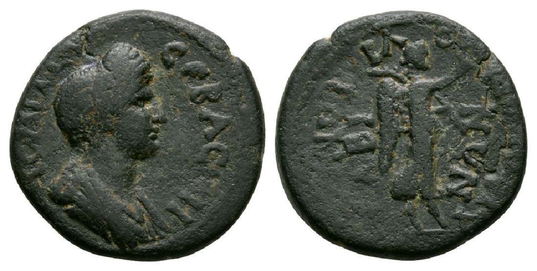 Domitian - Caria - Tabae - Nike Bronze