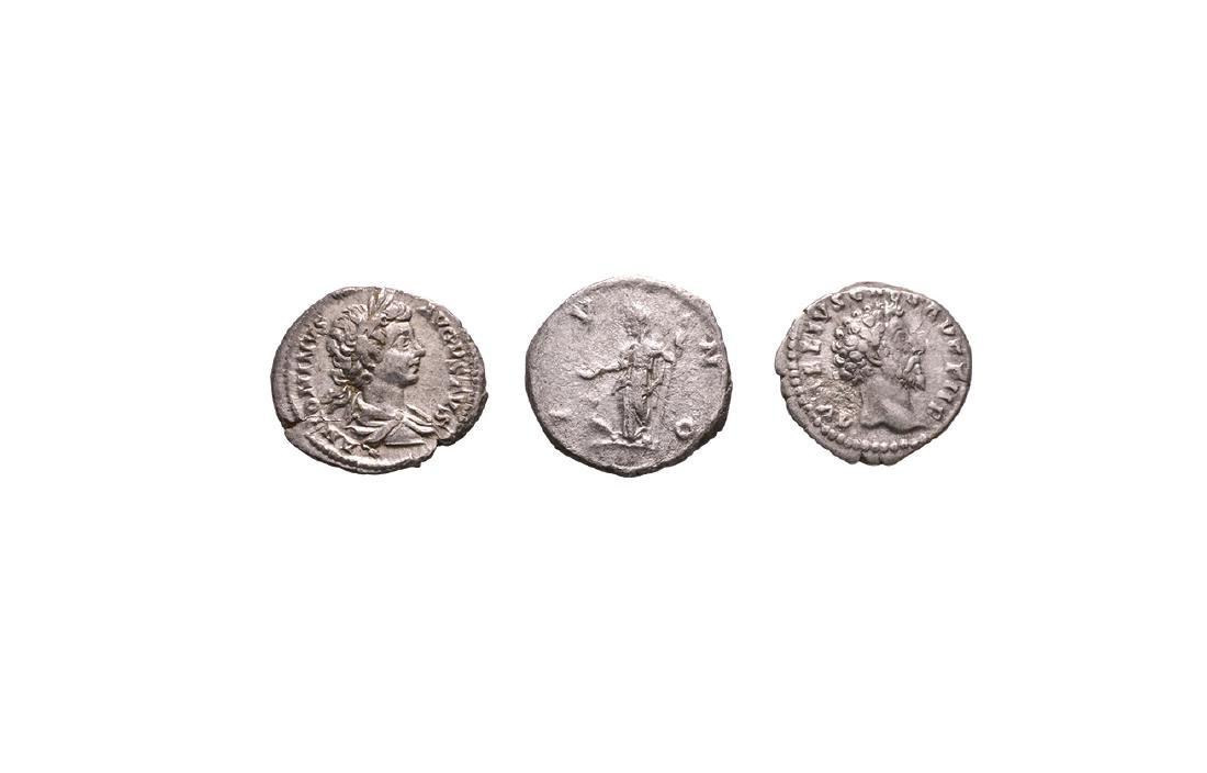 Marcus Aurelius to Caracalla - Denarii [3]