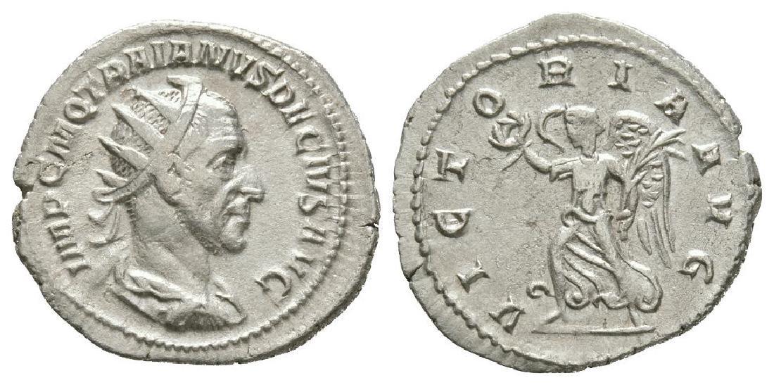 Trajan Decius - Victory Advancing Antoninianus