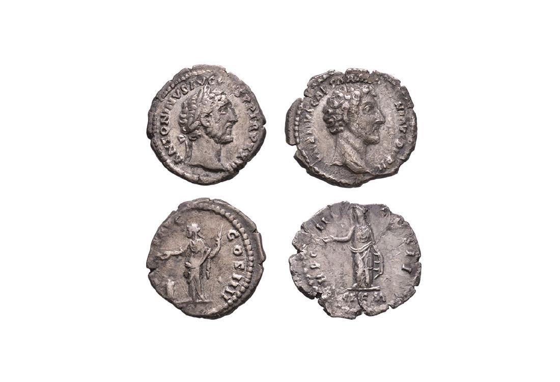 Antoninus Pius & Marcus Aurelius - Denarii [2]