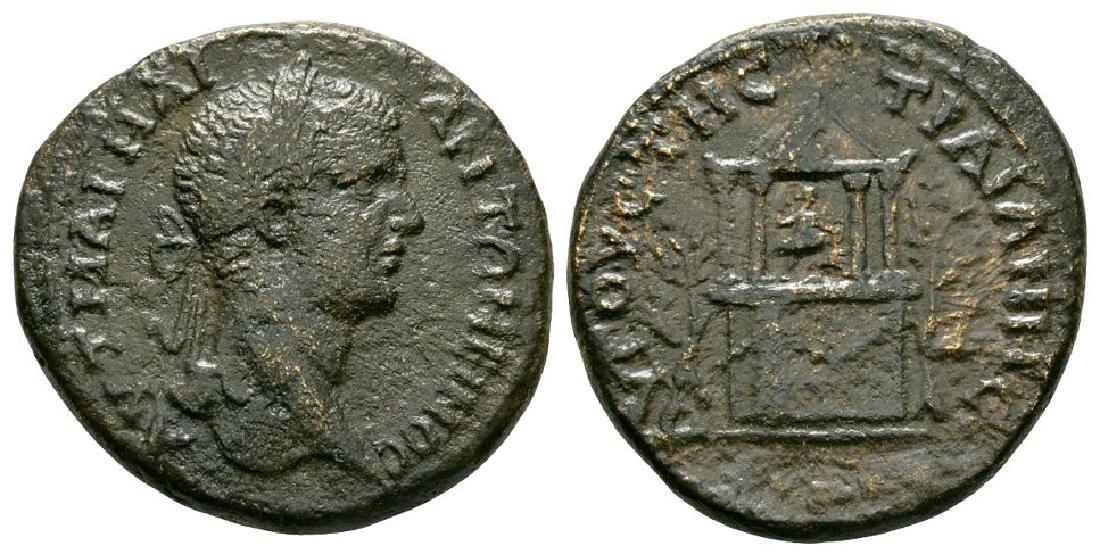 Caracalla Augusta Traiana - Temple Tetrassarion