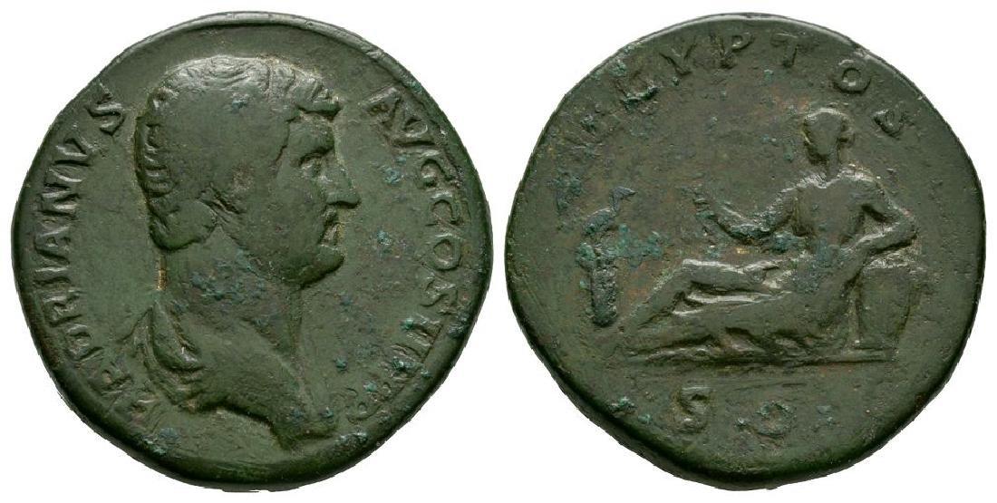 Hadrian - Egypt Sestertius