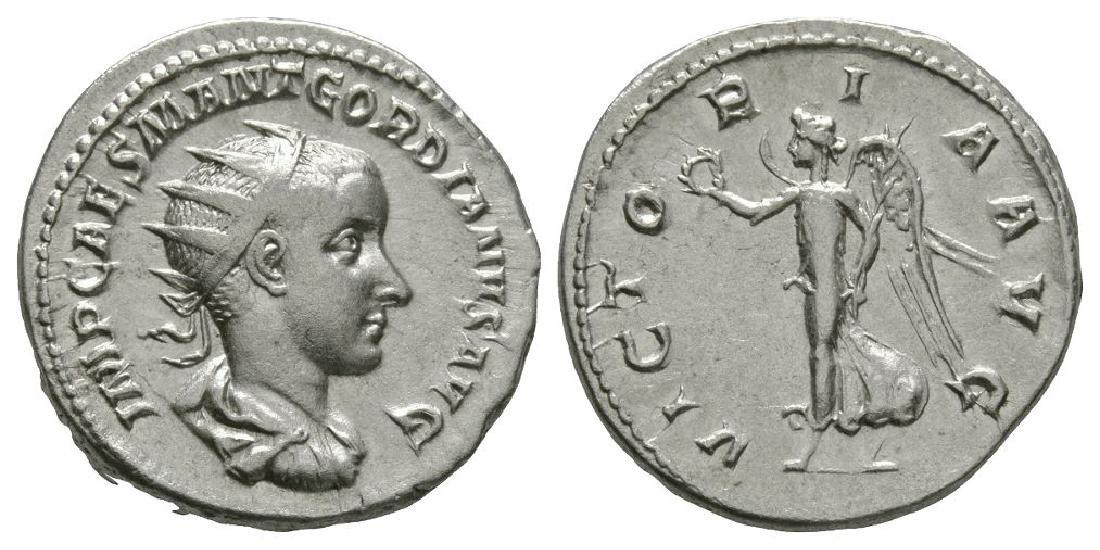 Gordian III - Victory Advancing Antoninianus