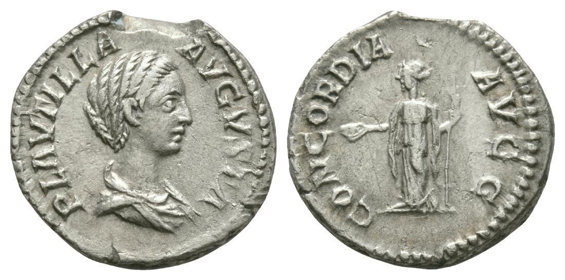 Plautilla - Concordia Denarius