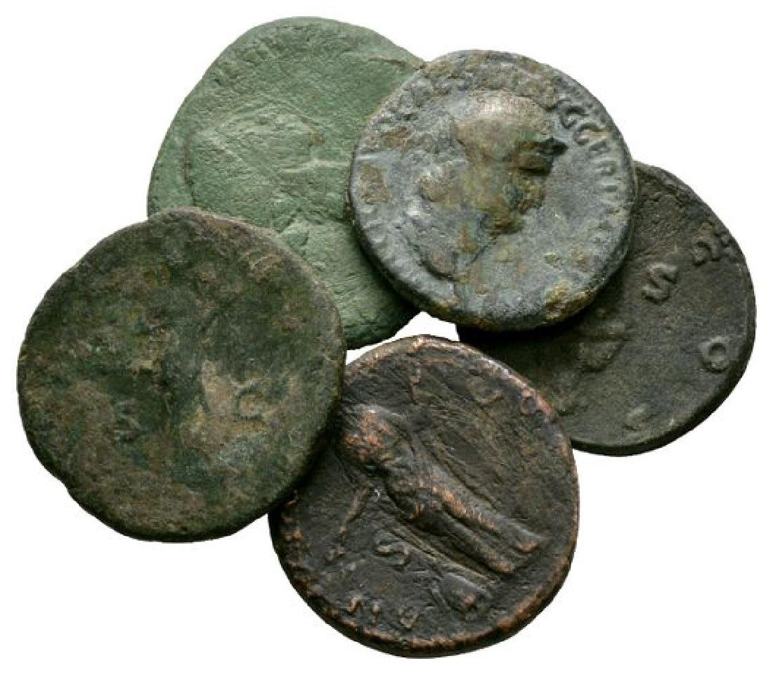 Nero and Hadrian - Bronzes [5]