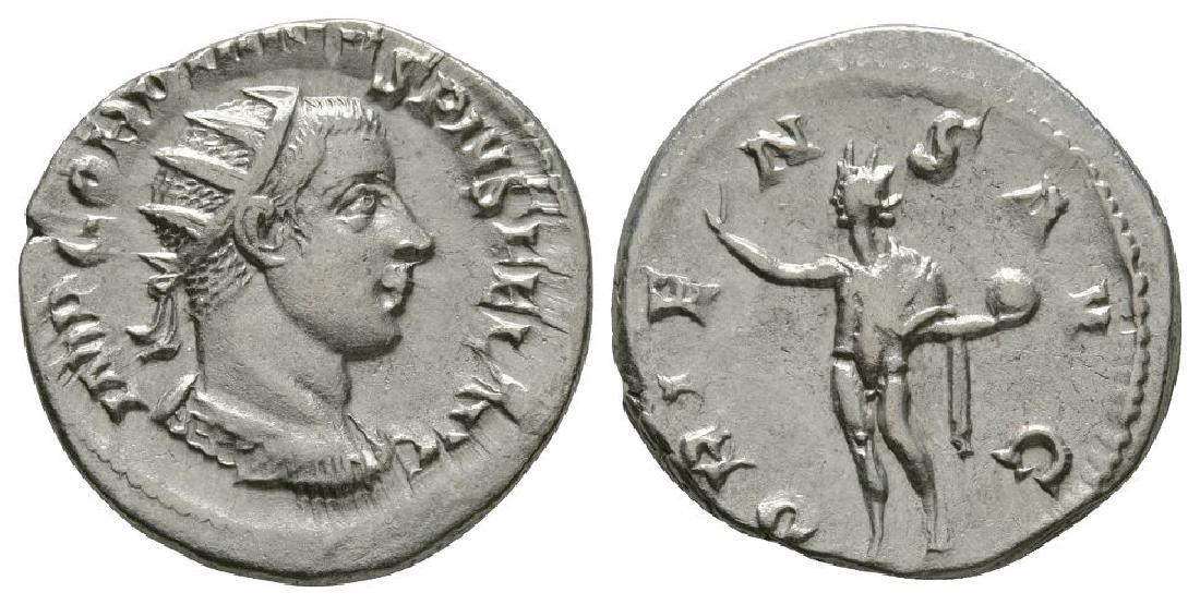 Gordian III - Sol Standing Antoninianus