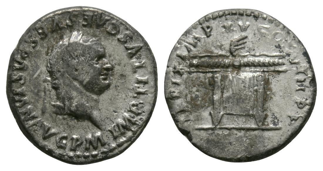 Titus - Thunderbolt Denarius