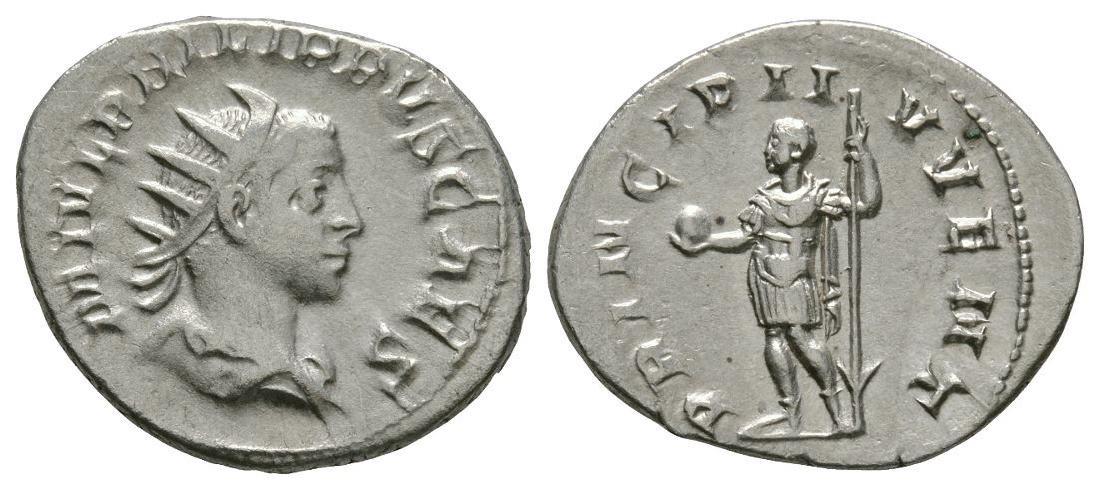 Philip II - Prince Standing Antoninianus