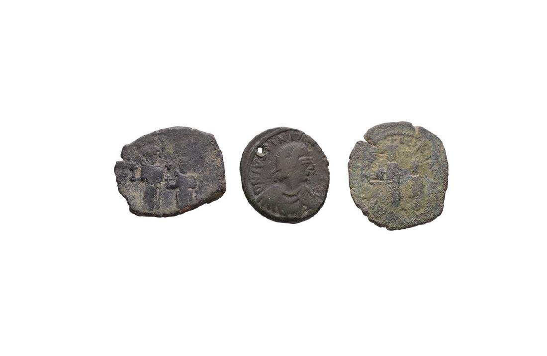 Ancient Byzantine Coins - Bronzes [3]