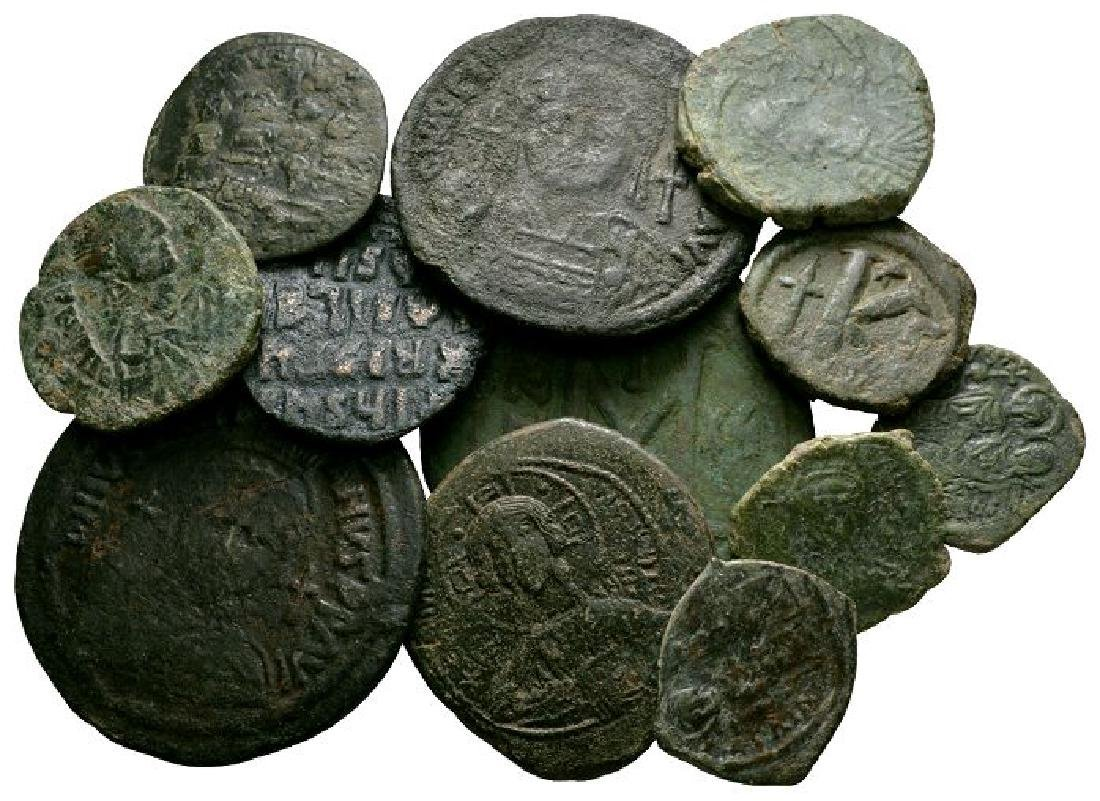 Ancient Byzantine Coins - Bronzes Group [12]
