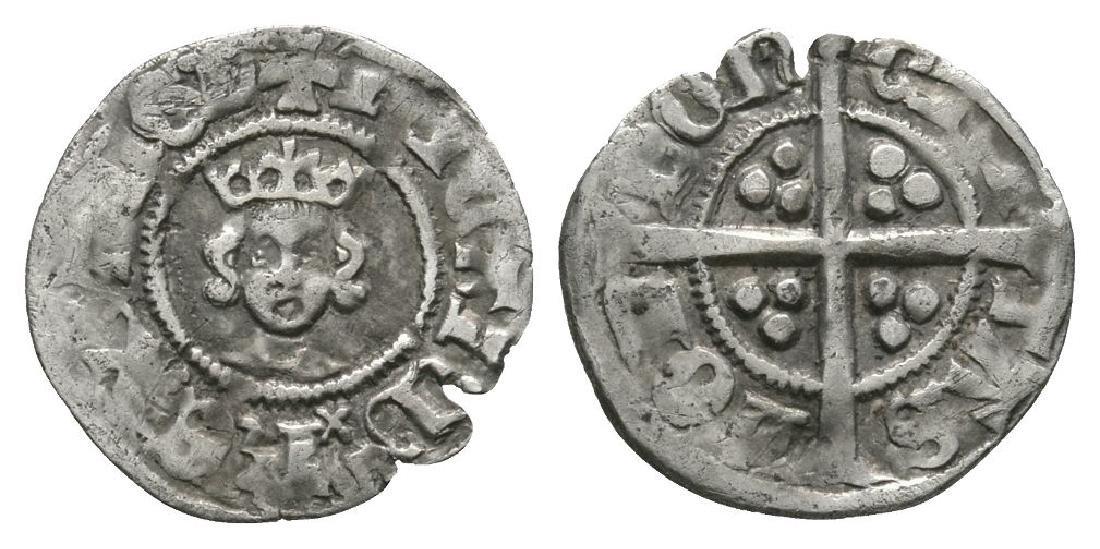 Richard II - London - Long Cross Halfpenny