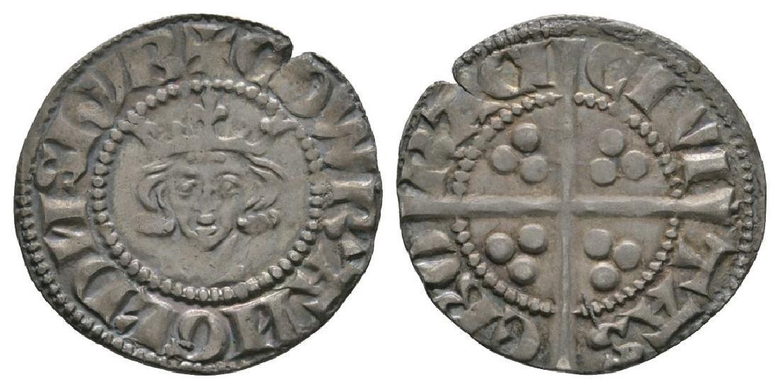 Edward I - York - Long Cross Penny