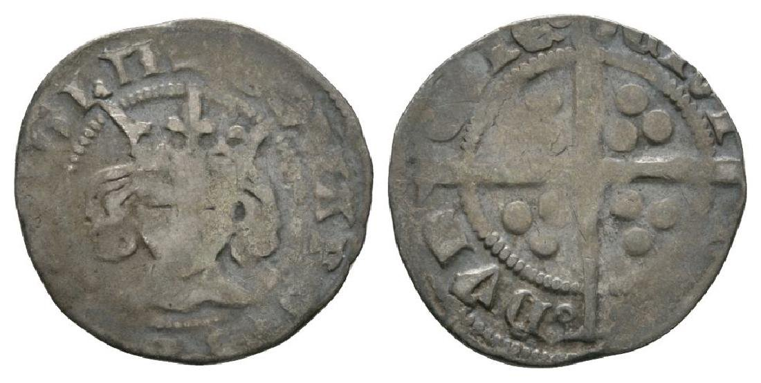 Edward III - Durham - Pre Treaty Penny