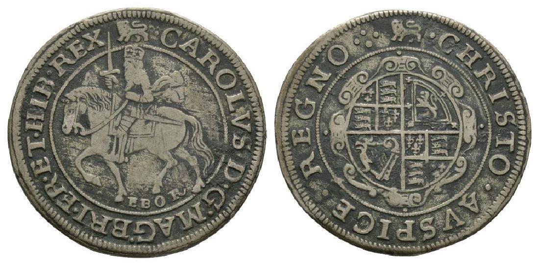 Charles I - York - Forgery Halfcrown