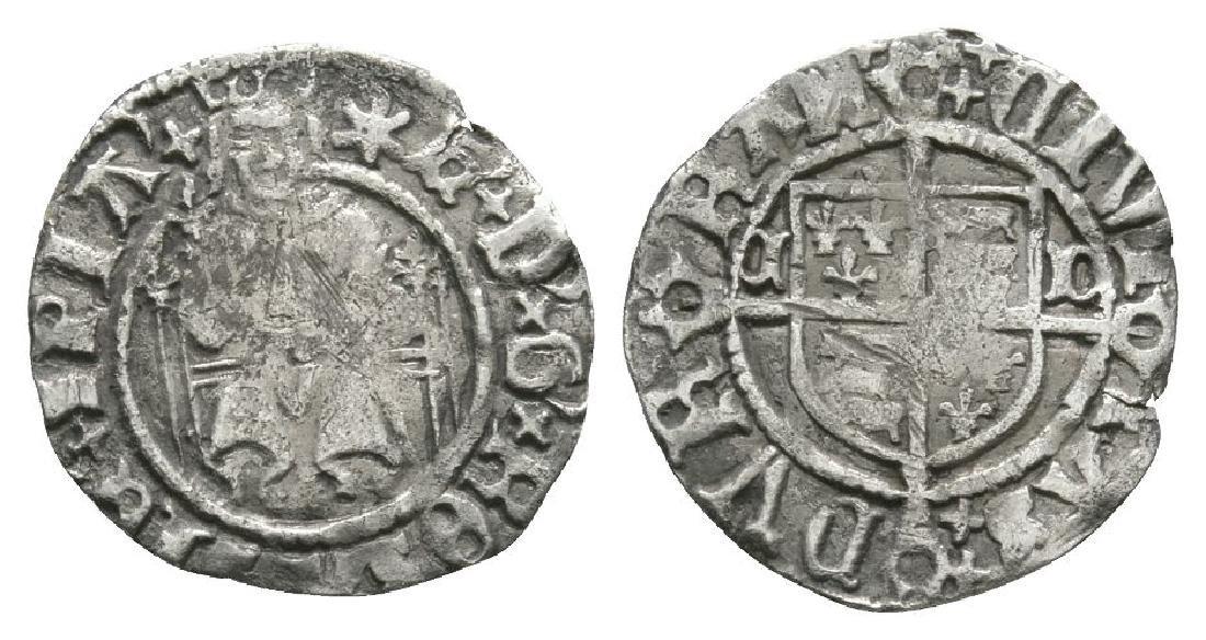 Henry VIII - Bp Tunstall - Durham - Sovereign 1d
