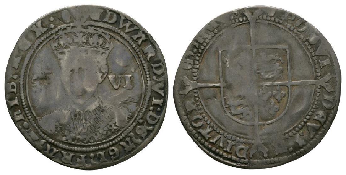Edward VI - Fine Sixpence