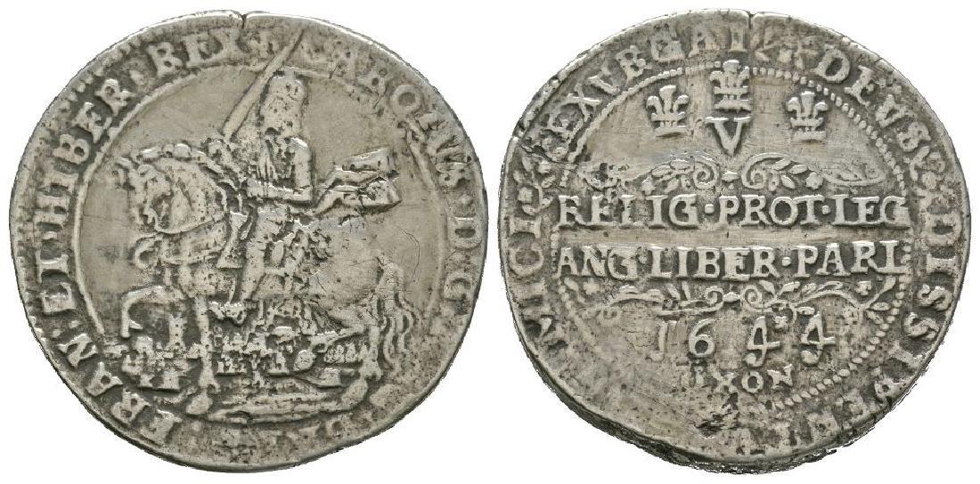 Charles I - 1644 - Replica Oxford Rawlin's Crown