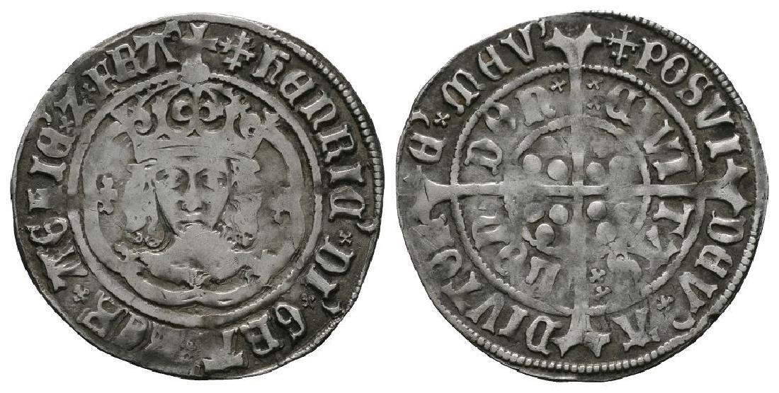 Henry VII - Facing Bust Variant Groat