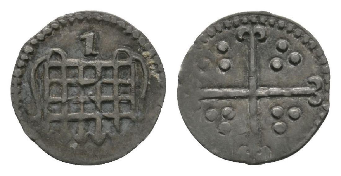 Elizabeth I - 1601 - Halfpenny