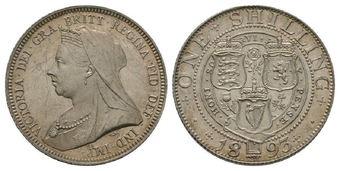 Victoria - 1893 - Shilling