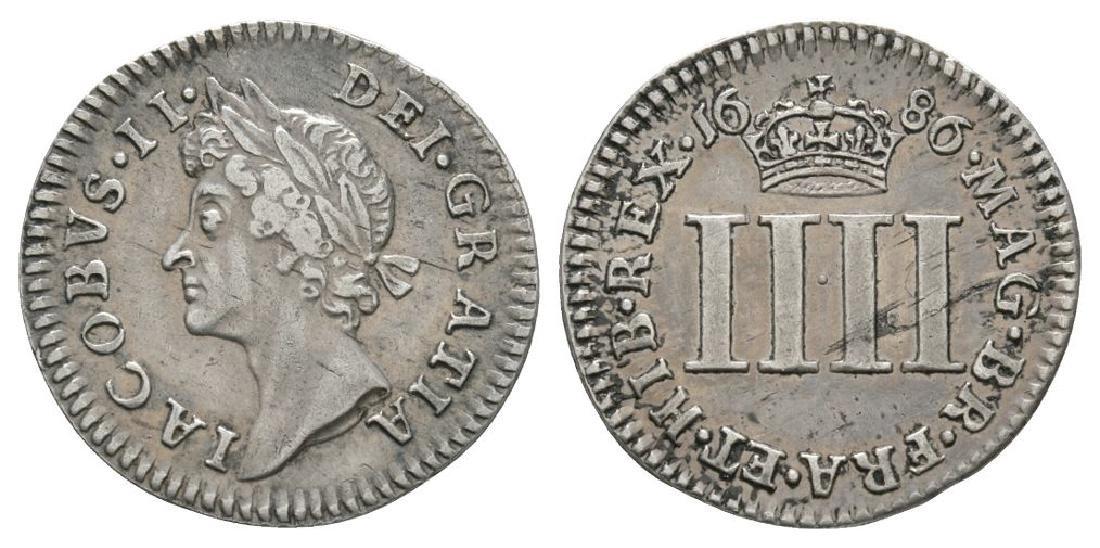 James II - 1686 - Groat